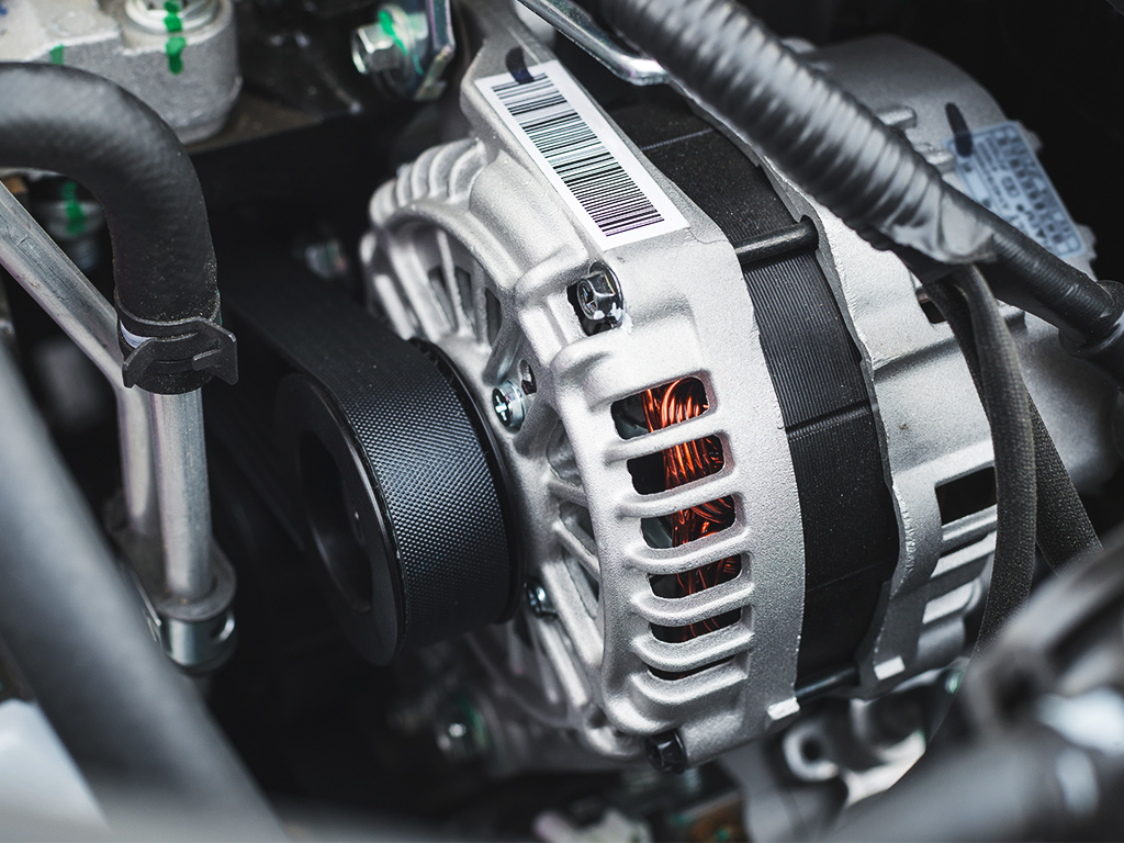 What is an alternator and how does it work